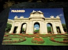 GLOSS PHOTO POSTCARD MADRID PUERTA DE ALCALA MAD-AM 1016